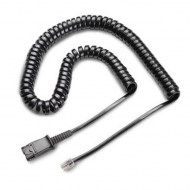 Plantronics U10 Curly Cable Cord