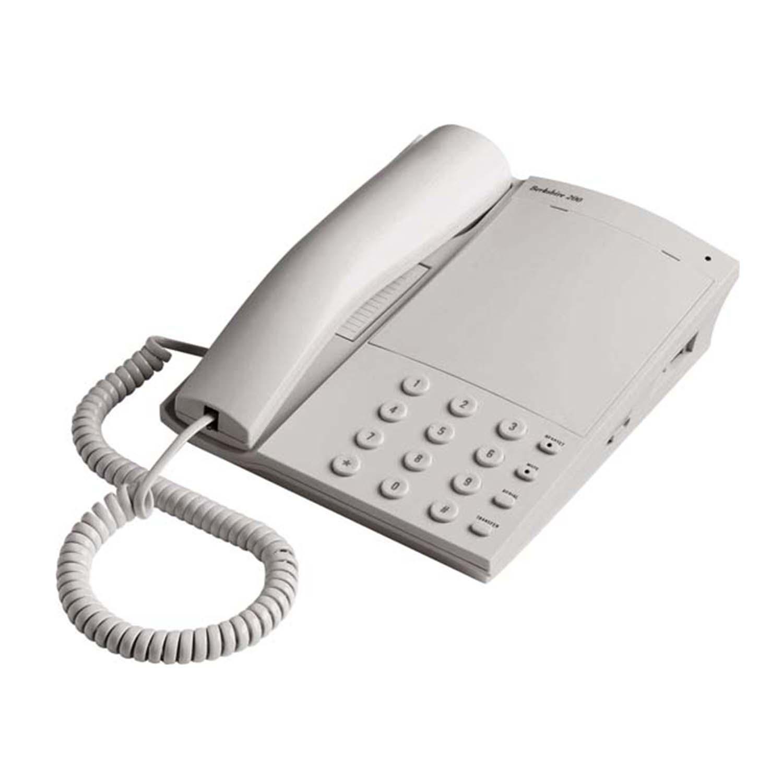 Headset Enabled Telephones: ATL Berkshire 200 Light Grey