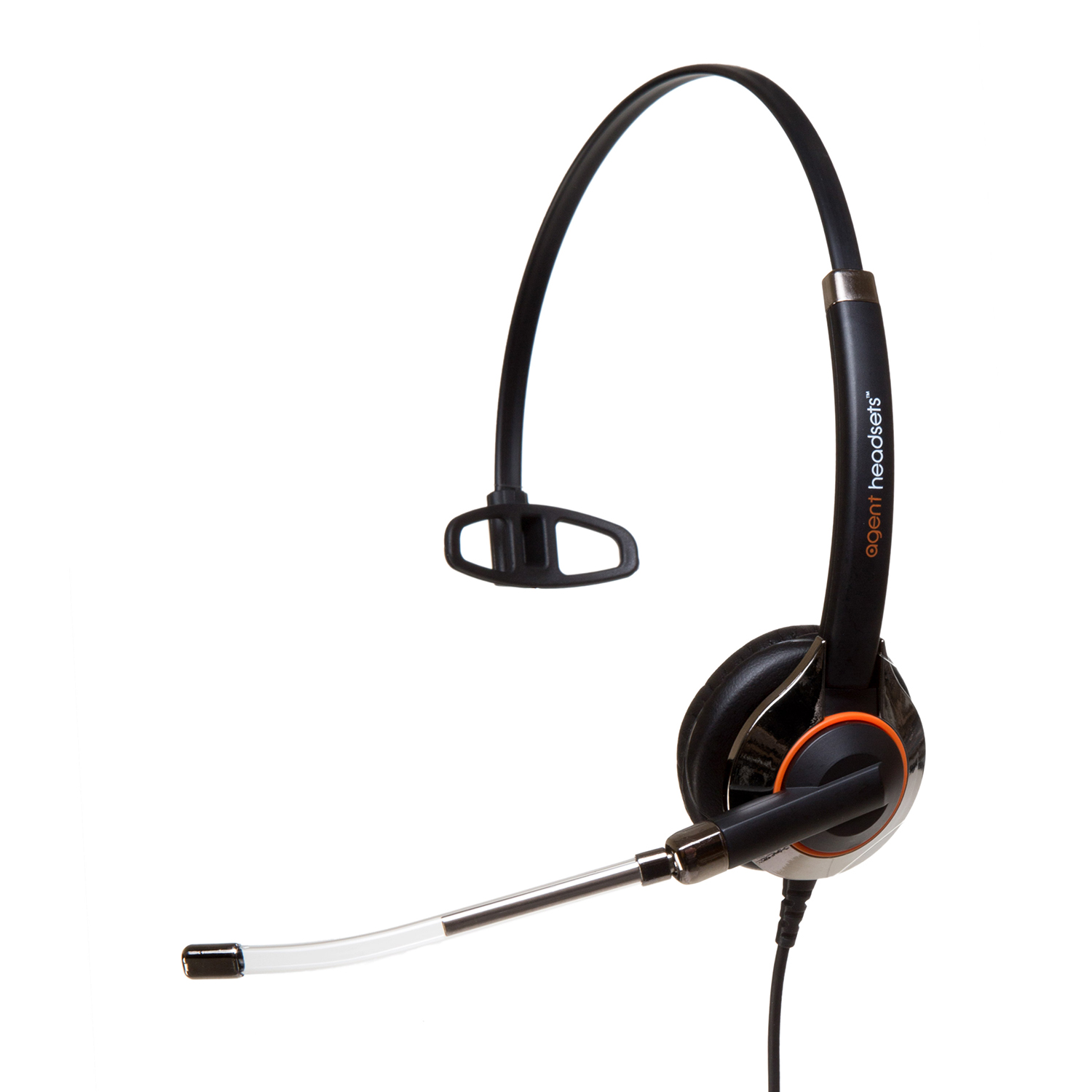 Agent 550 Plus Monaural Voice Tube Headset