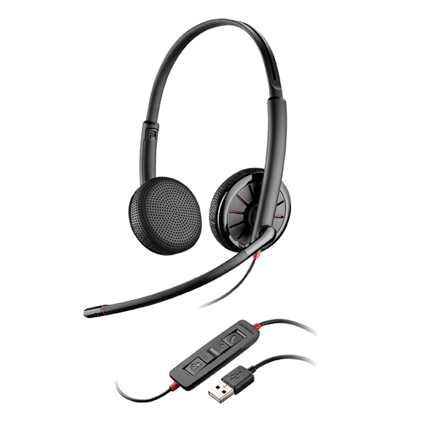 how to use the plantronics 3200 headset