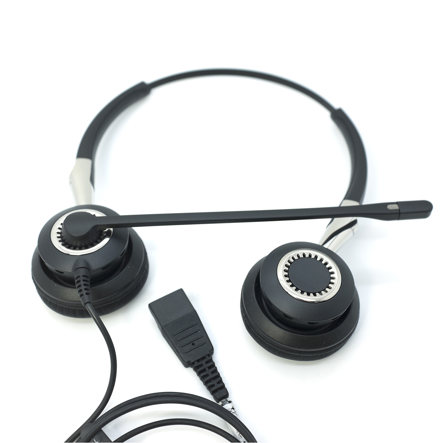 GN Jabra Biz 2400 Binaural Duo Noise Cancelling Wideband Headset