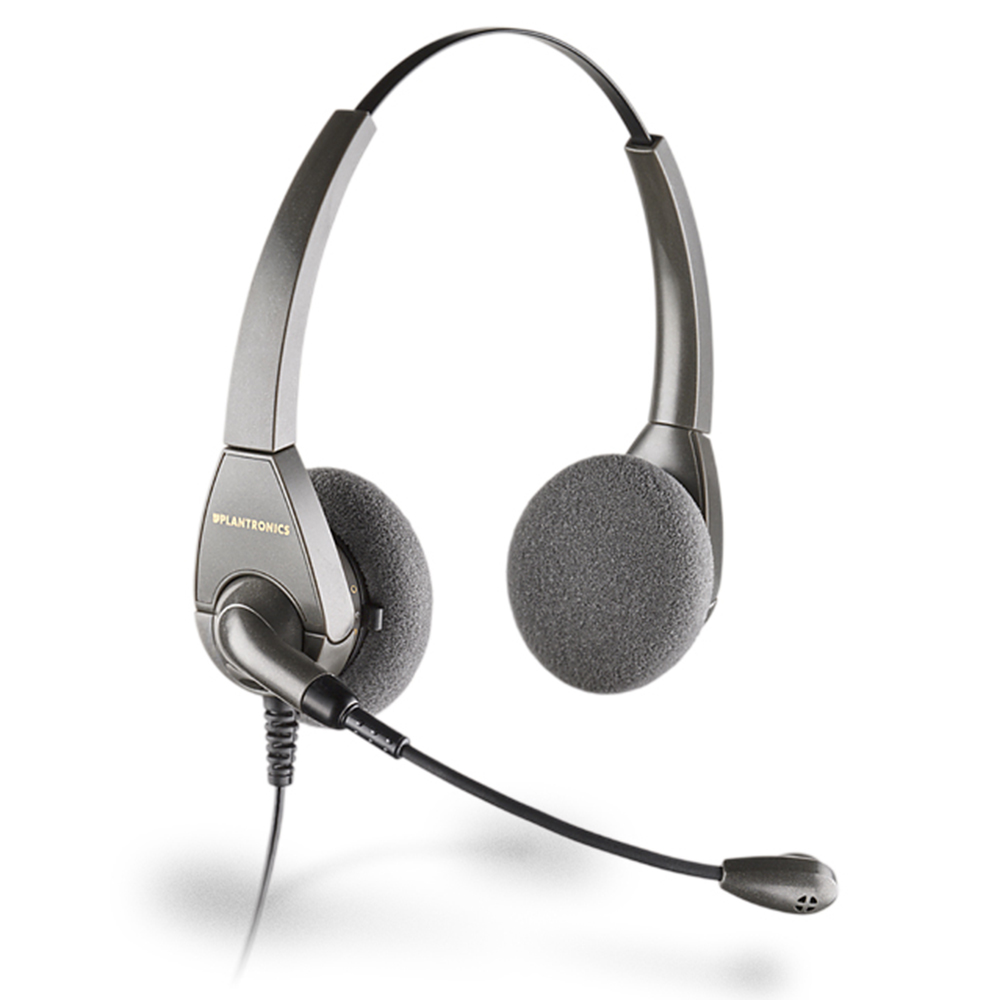 Plantronics Encore Binaural Noise Cancelling Headset - Refurbished
