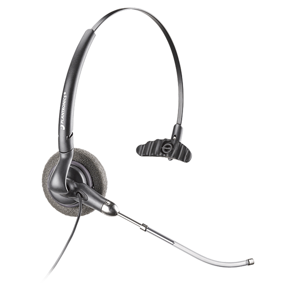 Plantronics DuoSet Monaural Headset - Refurbished