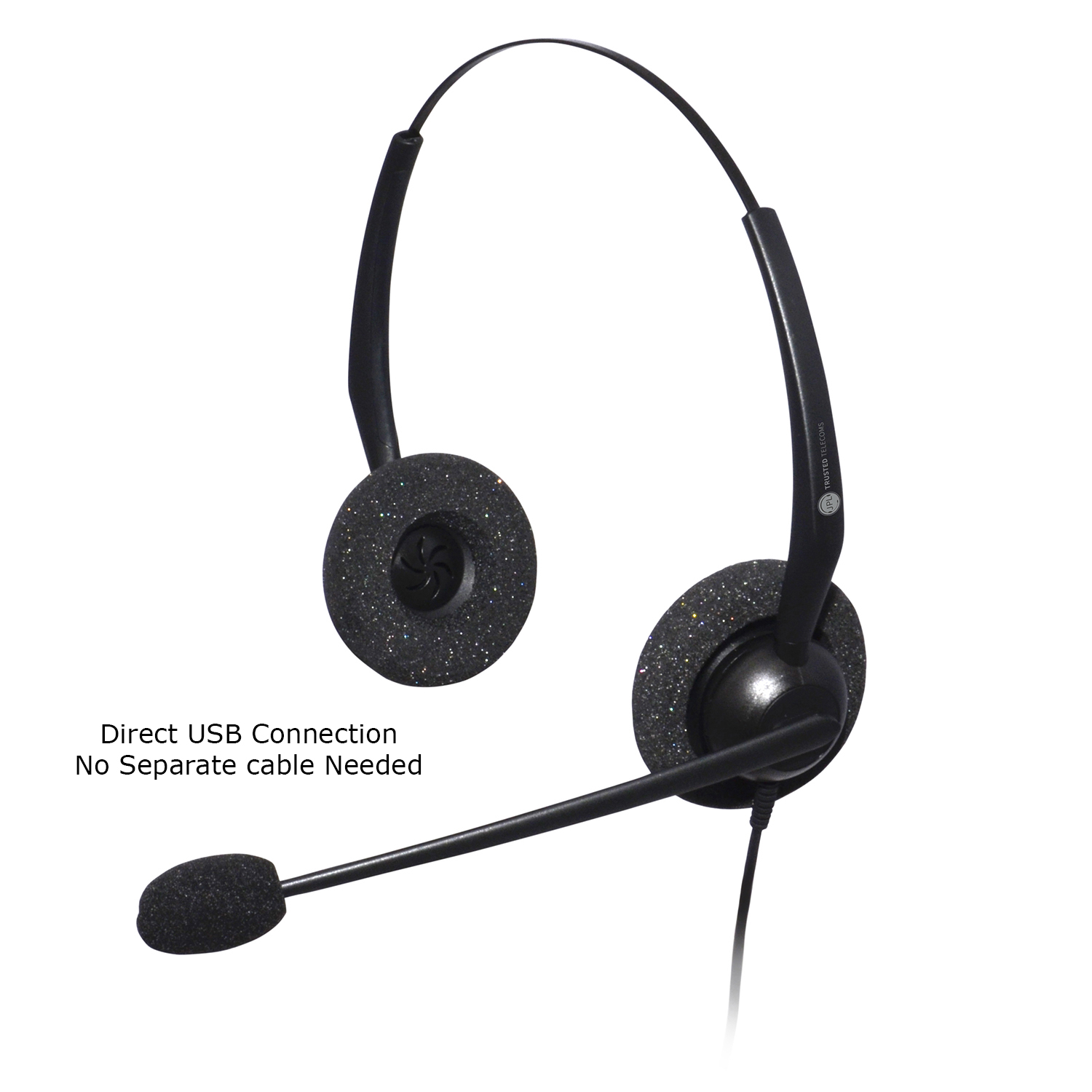 JPL JAC Plus USB Duo Noise Cancelling Binaural