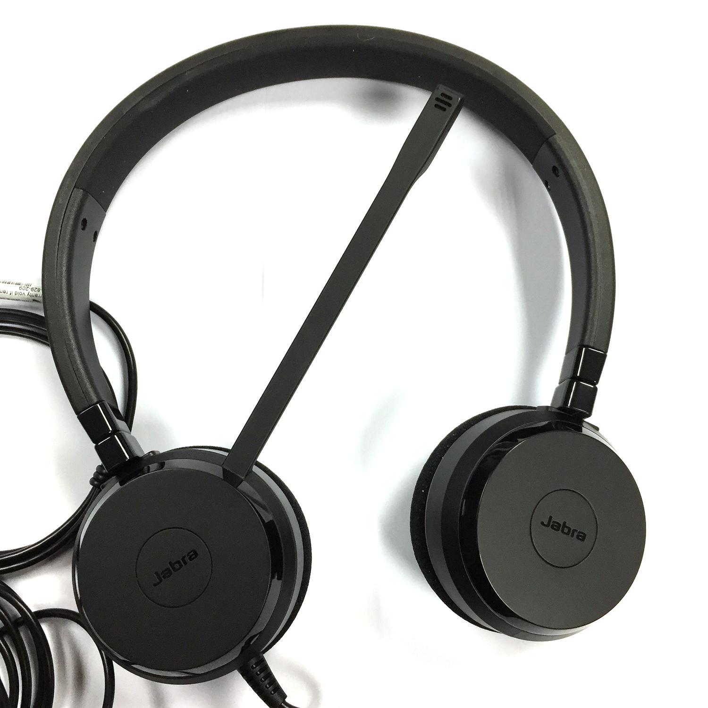 Jabra Evolve 75 Duo Wireless Headset Skype For Business: USB Headsets: Jabra Evolve 20 Duo USB UC Headset