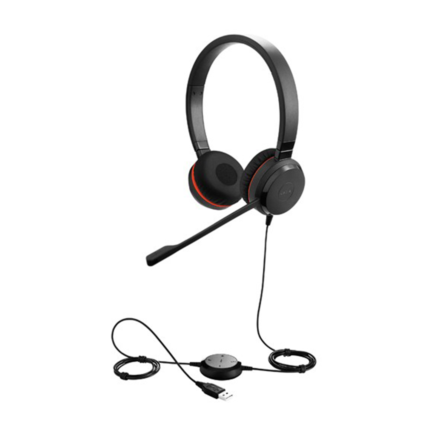 Jabra Evolve 75 Uc Duo Wireless Headset: Corded Headsets: Jabra Evolve 30 II Duo USB And 3.5mm UC
