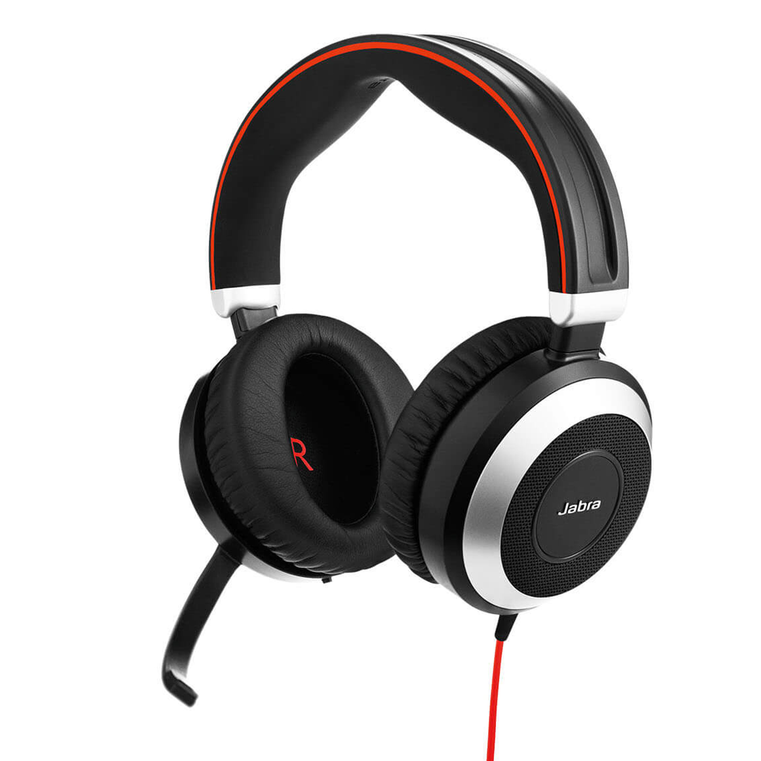 Jabra Evolve 80 Duo USB and 3.5mm MS Headset