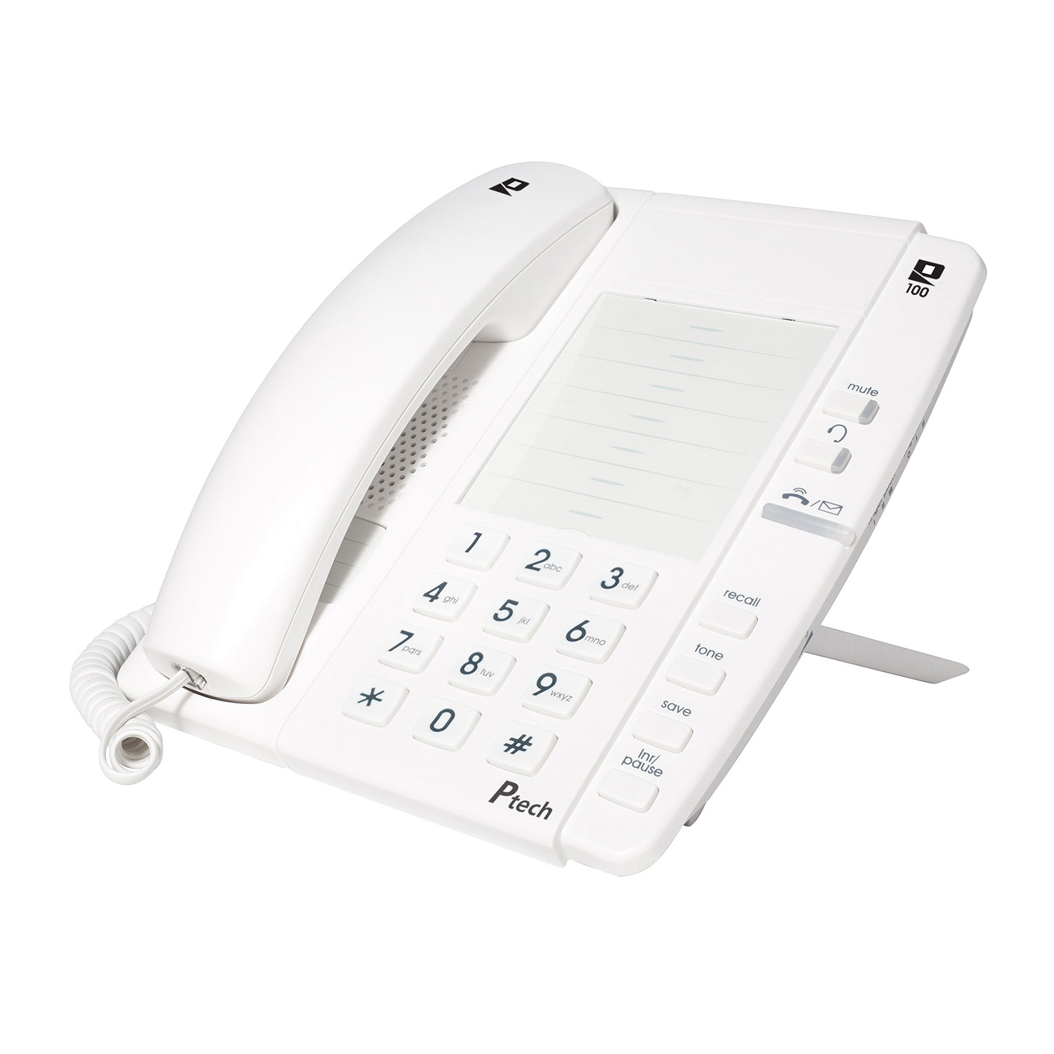 Ptech P100 White Telephone