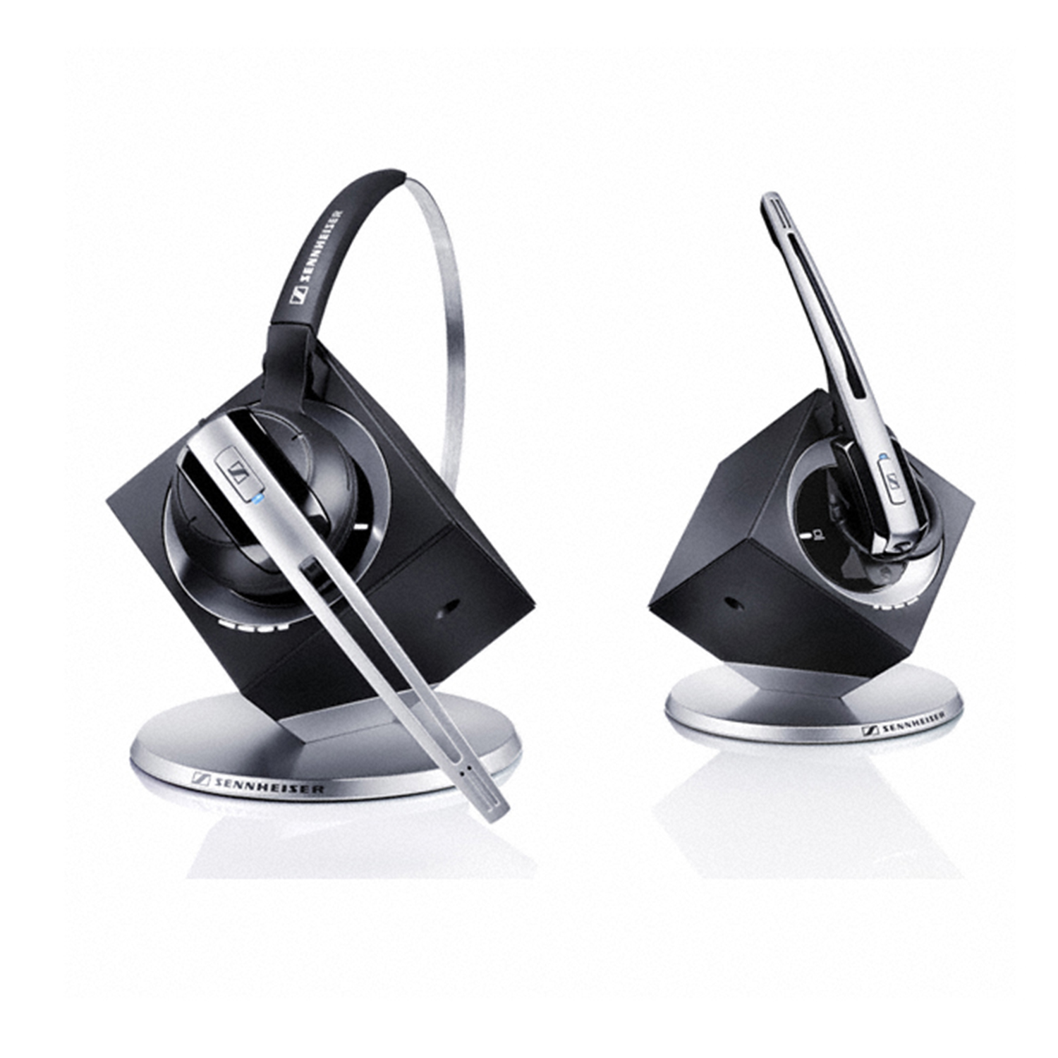 Sennheiser DW10 Office Monaural DECT Noise Cancelling Wireless Headset