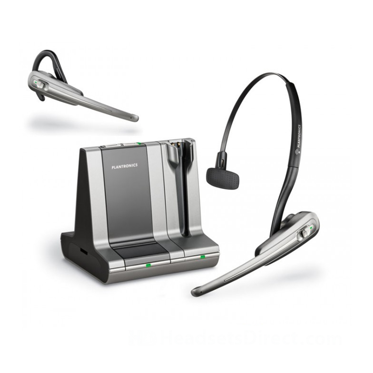 Plantronics Savi Office WO100 Noise Cancelling Wireless Headset - Refurbished