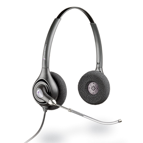Plantronics SupraPlus Binaural Headset - Refurbished