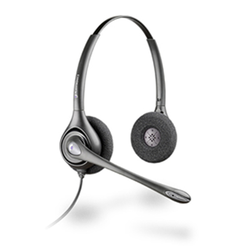 Plantronics SupraPlus Binaural Noise Cancelling Headset - Refurbished