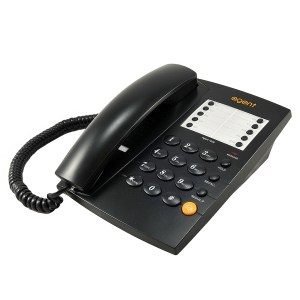 Agent 1000 Telephone Black