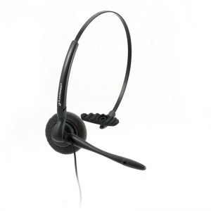 Plantronics DuoSet Monaural Noise Cancelling Headset - Refurbished