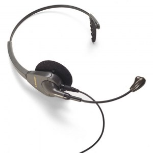 Plantronics Encore Noise Cancelling Monaural Headset - Refurbished