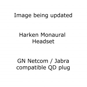 Harken Monaural Noise Cancelling Headset with GN Jabra Compatible Plug