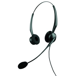 GN Netcom Jabra GN2100 Duo Flex Boom Noise Cancelling Headset