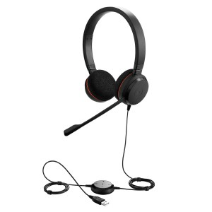 Jabra Evolve 20 SE Duo USB MS Headset