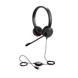 Jabra Evolve 30 II Duo USB and 3.5mm MS Headset