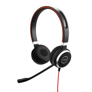 Jabra Evolve 40 Duo USB and 3.5mm MS Headset