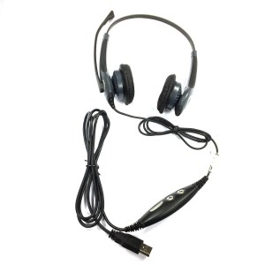 GN Netcom Jabra GN2000 Duo Flex Boom Noise Cancelling USB Headset