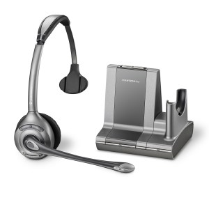 Plantronics Savi Office WO300 Monaural Noise Cancelling Wireless Headset - Refurbished