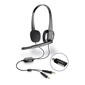 Plantronics Audio 625 3.5mm or USB