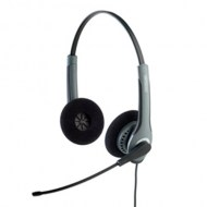 GN Netcom Jabra GN2000 Duo Flex Boom Noise Cancelling Headset - Refurbished